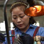 CHINA'S ECONOMIC GROWTH SLOWS DOWN